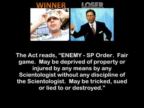 Anonymous CRUSHES Scientology! Victory for Gregg Housh!