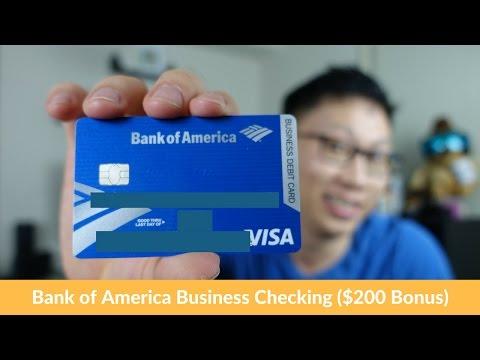Free $200 Bonus w/ BoA BusinessChecking Account