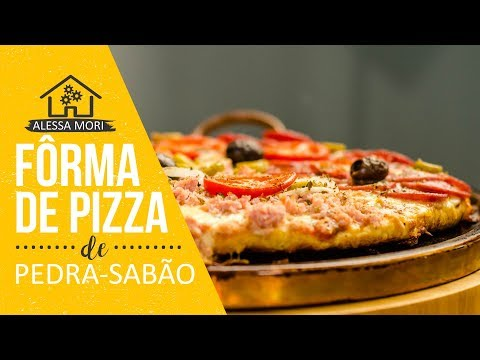 ⭐ DICA PARA PIZZA CROCANTE | FÔRMA DE PEDRA SABÃO | COMO USAR
