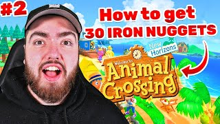 How to get UNLIMITED Iron Nuggets on Animal Crossing: New Horizons (Playthrough #2)