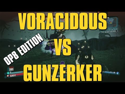 Borderlands 2 OP 8 Gunzerker VS Voracidous - playithub com