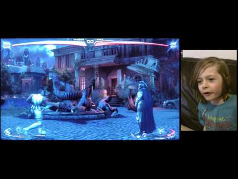 Let's Play INJUSTICE: GODS AMONG US - Cyborg vs. Ares #PS3