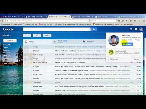 How to change or add recovery mail on your gmail account//Bd solve// How to and do//