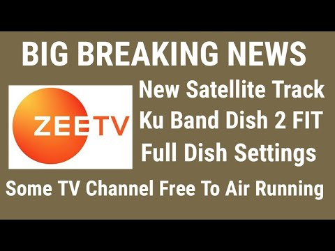 New Satellite Lunch, New TV Channel Started 2018, Dish Setup FTA Channel list 2018