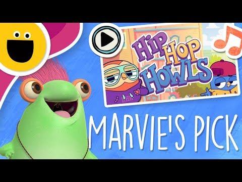 Hip Hop Howls: How to Tie Your Shoes | Marvie's Pick (Sesame Studios)