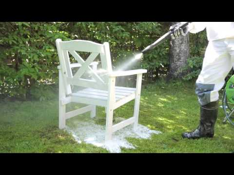 How to paint outdoor furniture - Tikkurila