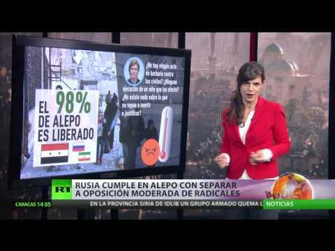 Rusia consigue en Alepo separar a la oposición moderada de los radicales
