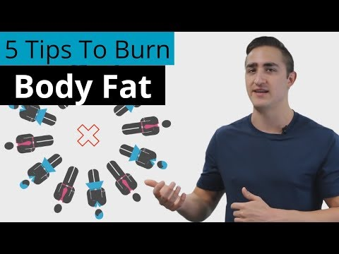 5 Tips To Burn Body Fat and Lose Weight