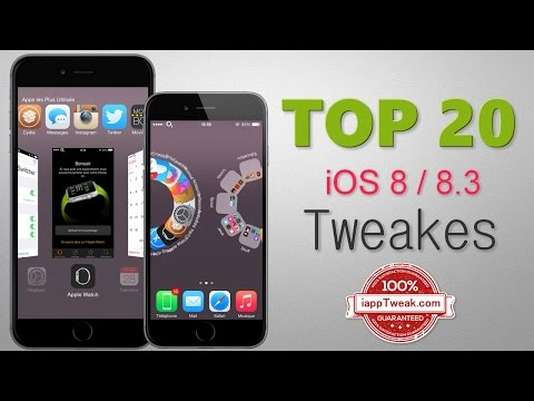 TOP 20 Best Cydia Tweaks & Apps For iOS 8.3/8.4 - With TaiG 2.1.2/2.2.0 Jailbreak For iOS 8.3 & 8.4