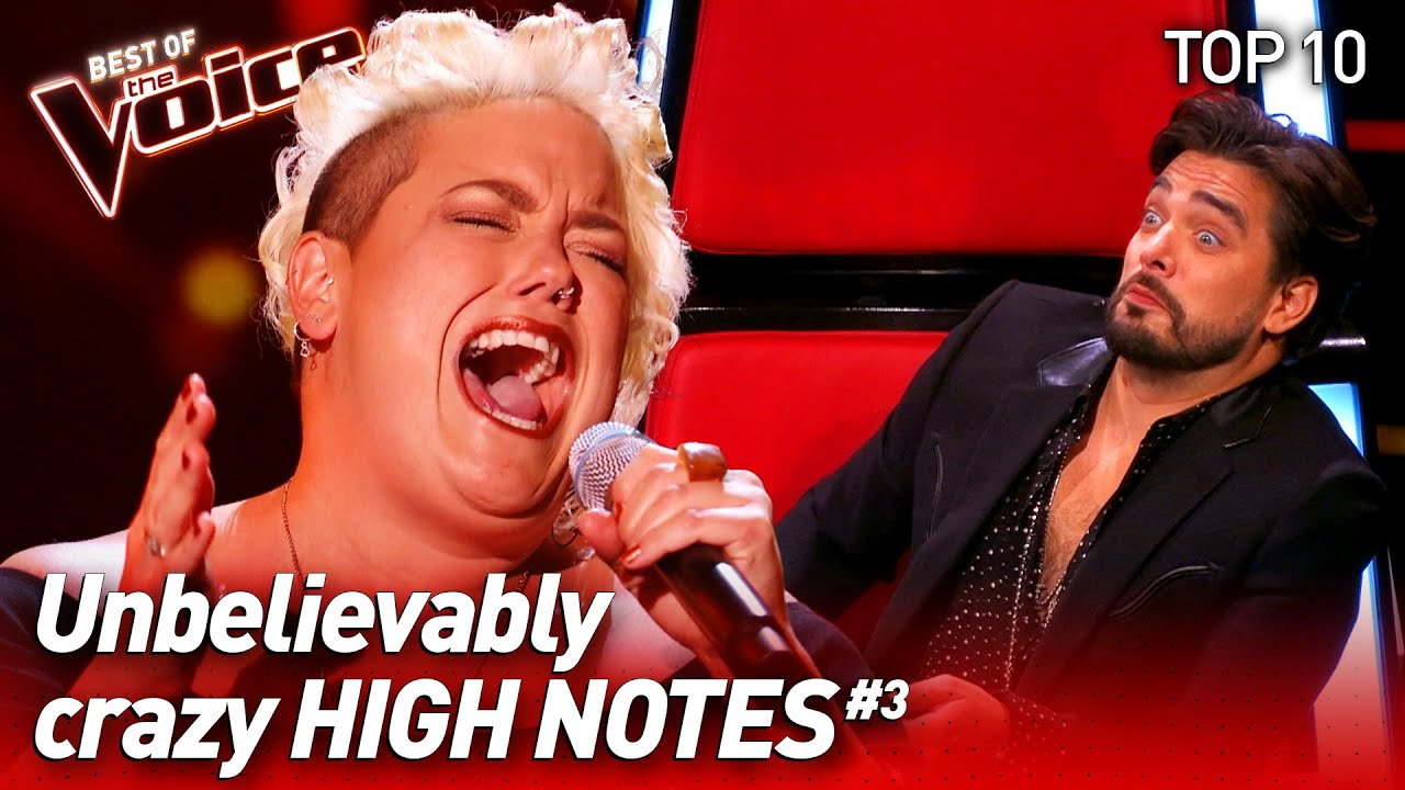SHOCKING High Notes on The Voice #3 | Top 10