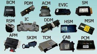 Automotive Electronic Modules Types