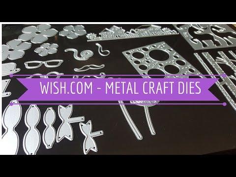 Wish.com - Metal Craft Dies