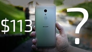 Sharp Z2 Review - Old Yet Insane Value $113 Smartphone!