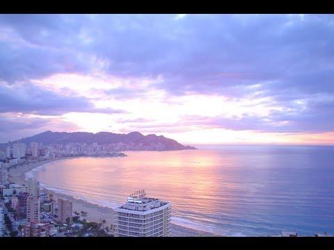 Nice places (Sun & Beach): Benidorm Sunrise (Alicante, Spain)