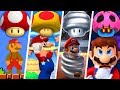 Evolution Of Super Mario Mushroom Power Ups 1985 2019