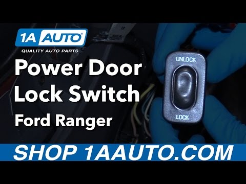 How to Install Replace Door Lock Switch 2001 Ford Ranger Ford Ranger Buy Auto Parts at 1AAuto.com