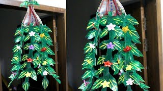 Plastic bottles recycling - How to recycle plastic bottles at home - Plastic bottle decoration ideas