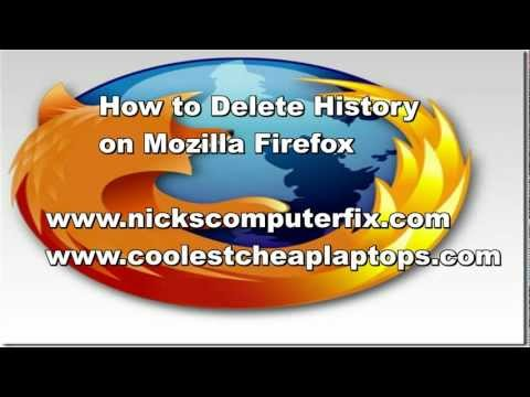 How To Delete History On Mozilla Firefox - Clear Cache!