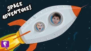 WE FOUND NEW PLANET?! Rocket Ship Adventure PLAY HobbyKidsTV