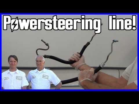 How to Replace Power Steering Pump Pressure Hose