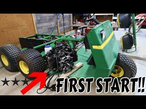 THE NEW GATOR ENGINE RUNS!! *POWER*