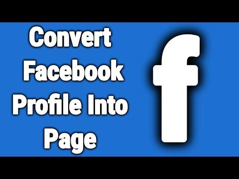 How To migrate Facebook Profile Into a Facebook Page -2018 || Technical naresh