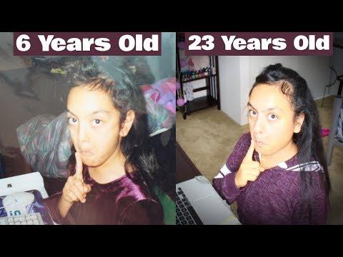 Recreating My Childhood Photos