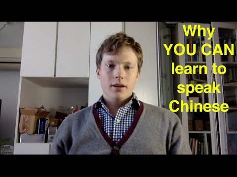 Why YOU CAN learn to speak Chinese + my story
