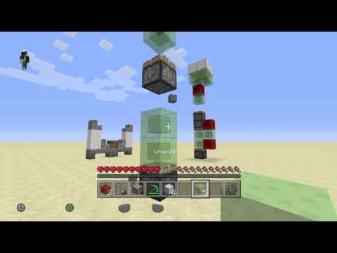 Minecraft PS4 Edition: How to make Redstone Rocket