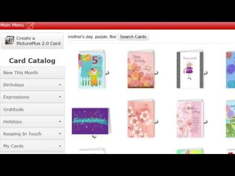 How to Search for Greeting cards using SendOutCards online greeting card maker
