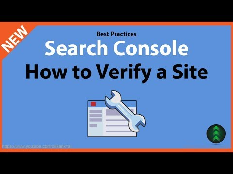 How to Verify Your Website Google Search Console - Best Practices