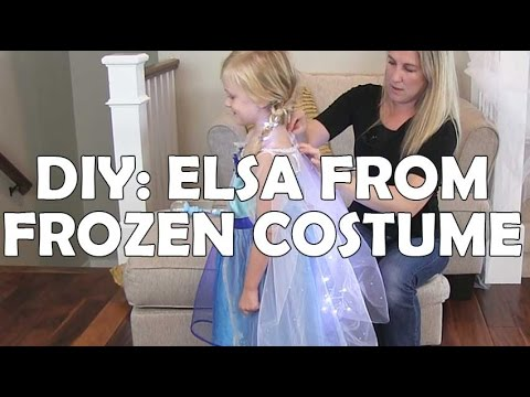 How to Light an Elsa from Frozen Costume for Halloween