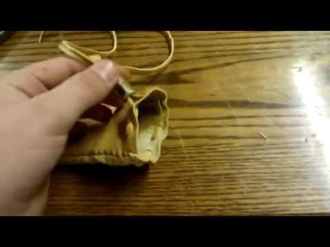 How to Make a Buckskin Bullet Bag