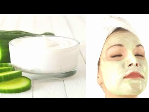 Summer Face Pack/ Cucumber face mask/ Instantly glowing skin pack/ Neutral fair skin mask/ Indian.