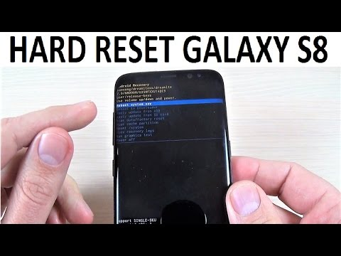 HARD RESET Samsung Galaxy S8, S8+ and NOTE 8 | How to - PakVim net