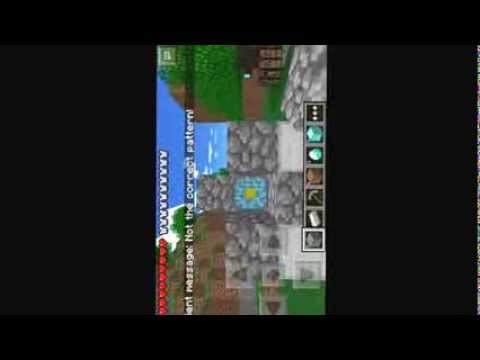 How to make a nether portal on minecraft pe