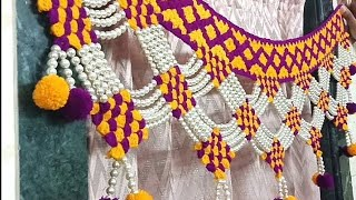 Woolen Toran Designs Images