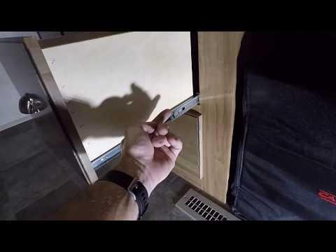 Camper Drawer Slide Repair