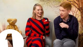 """""""Have you ever heard anything like it?!"""": Margot Robbie on Domhnall Gleeson"""