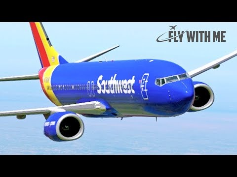 X-Plane 11 - Southwest Airlines to Little Rock