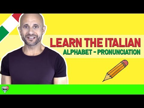 Learn the Italian Alphabet: Learn How to Pronounce Words in Italian [PART 3 of 3]