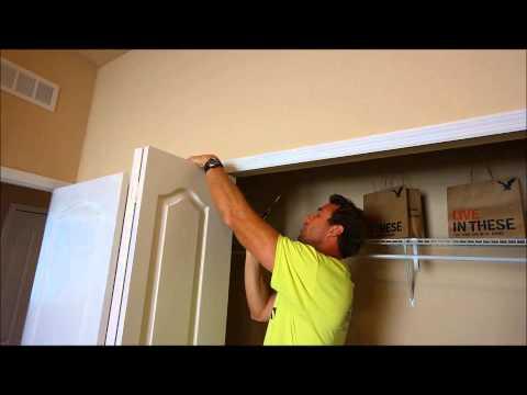 How to adjust your bifold doors