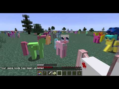 Minecraft Hide & Seek with Ponies & Unicorns