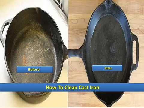 How To Clean Cast Iron - 7 Simple and Easy Steps