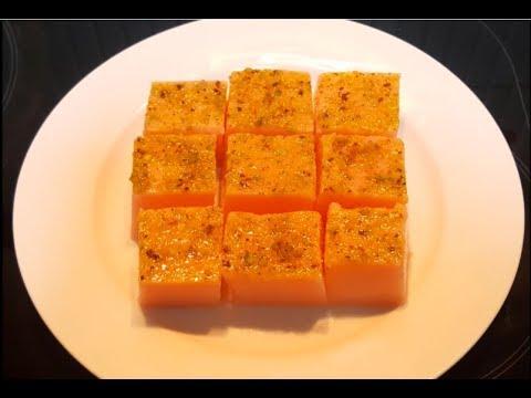 Rose Agar Agar Pudding Recipe in Tamil   கடல் பாசி செய்வது எப்படி?  China grass  pudding