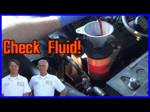 How to Check and Add Power Steering Fluid EASY!