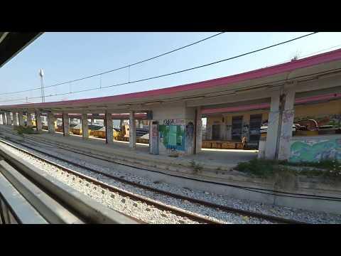 In Circumvesuviana, Naples - Sorrento train (Part I)