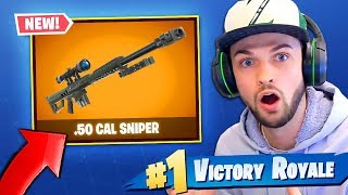 *NEW* SNIPER can SHOOTS THROUGH WALLS coming to Fortnite: Battle Royale!