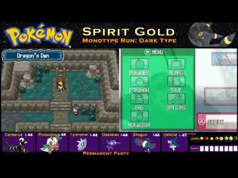 Pokemon Spirit Gold Monotype Run Pt 19: Dragon Shrine!