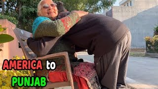 Surprise Visit To INDIA From AMERICA | Longest Flight Journey Ever